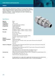 PABAX Cable Glands and Accessories
