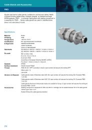 PMD Cable Glands and Accessories - Hikari Group