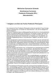 PL Schulinternes Curriculum (SI).pdf - Märkisches Gymnasium ...