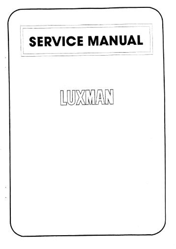 click here to download the service manual of the L55A in pdf format