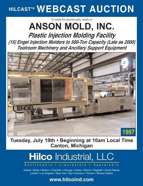 Anson Mold, Inc - Hilco Industrial