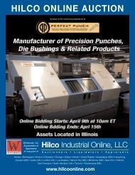 HILCO ONLINE AUCTION - Hilco Industrial