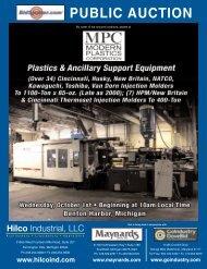 PUBLIC AUCTION - Hilco Industrial