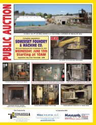 sq. ft. of real estate • + - Hilco Industrial