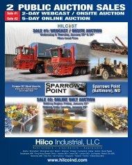 2 Public Auction SAlES - Hilco Industrial