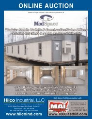 ONLINE AUCTION - Hilco Industrial