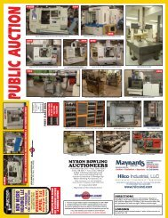 Zagora - Auction Flyer - Hilco Industrial
