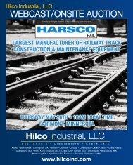 WebCast/OnsIte auCtIOn Hilco Industrial, LLC
