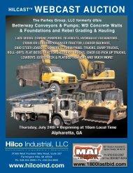The Parhey Group, LLC formerly d/b/a - Hilco Industrial