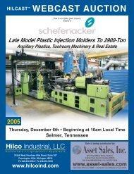 WEBCAST AUCTION - Hilco Industrial