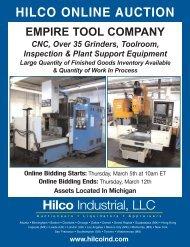 HILCO ONLINE AUCTION Hilco Industrial, LLC