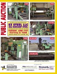 Dba BURCAMP STEEL - Hilco Industrial
