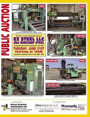 Dba BURCAMP STEEL - Hilco Industrial