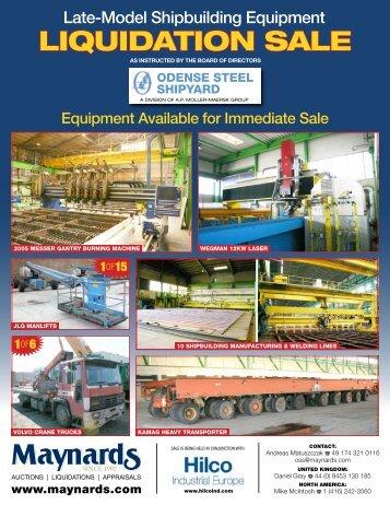 LIQUIDATION SALE - Hilco Industrial