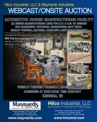 Download Brochure - Hilco Industrial