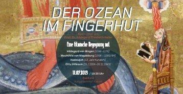 Der Ozean im Fingerhut Der Ozean im Fingerhut - hildegardkeller.ch