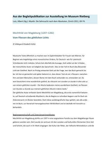 Preprint - hildegardkeller.ch