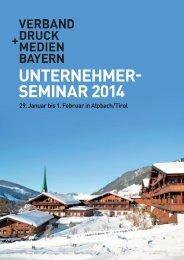 Einladungskarte - Verband Druck und Medien Bayern eV