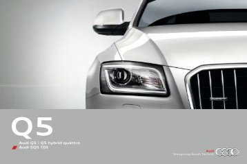 Audi Q5 | Q5 hybrid quattro Audi SQ5 TDI