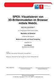 thesis - Technische Universität Wien