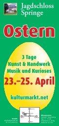 23.–25. April - Hildesheimer Allgemeine Zeitung