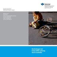 Rechtsfragen bei Erster-Hilfe-Leistung durch ... - Hilfen zum Helfen