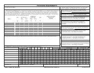 AFMC Form 158 Packaging - DRC DESP III