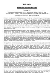 info........ - CSK Himachal Pradesh Agricultural University