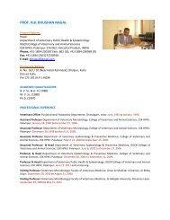 Dr. Kul Bhushan Nagal - CSK Himachal Pradesh Agricultural ...