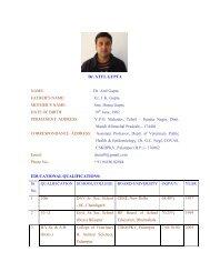Dr. Atul Gupta - CSK Himachal Pradesh Agricultural University