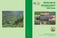 Research Highlights 2007-08 - CSK Himachal Pradesh Agricultural ...