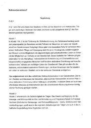 SächsBeWoG Begründung Referentenentwurf