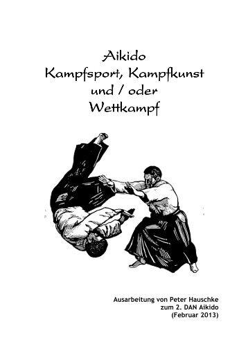 Kampfsport, Kampfkunst und/oder Wettkampf? - Sportschule ...