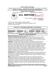 Section I - Chemical Product And Company Identification