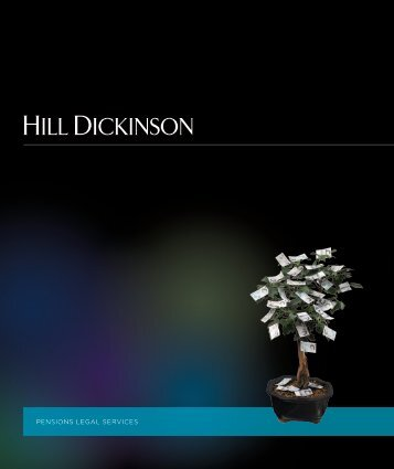 Pensions brochure May 2011.indd - Hill Dickinson