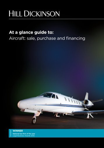 At a glance guide to Aviation Nov 2011 with contacts ... - Hill Dickinson