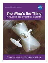 The Wing's the Thing - Hiller Aviation Museum