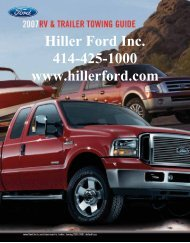 2007 Guide - Hiller Ford Inc.