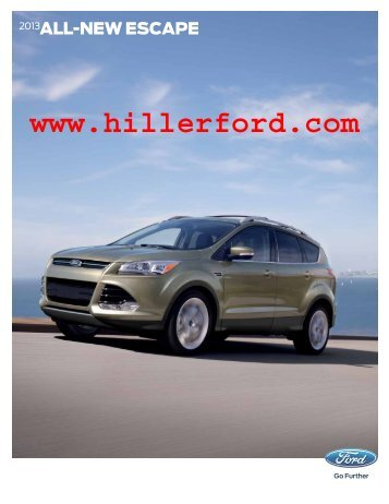 Sleek. Smart. More fun than ever. - Hiller Ford Inc.