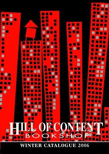 Winter 2006 - Hill of Content Bookshop