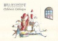 Children's Catalogue 2010/2011 - Hill of Content Bookshop