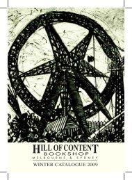 Winter 2009 - Hill of Content Bookshop