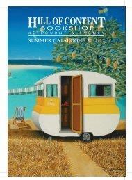 Summer Catalogue 2011-12 - Hill of Content Bookshop