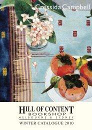 Winter 2010 - Hill of Content Bookshop