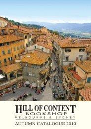 Autumn 2010 - Hill of Content Bookshop