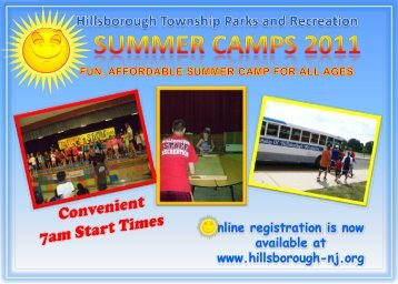 Hillsborough Township Parks and Recreation