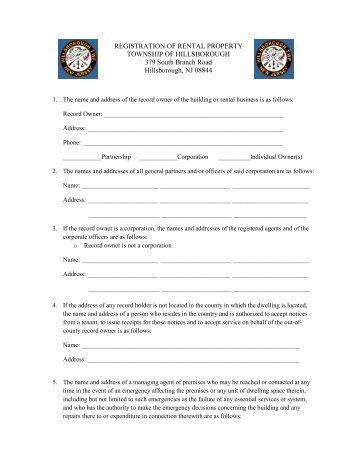 Certification Form Neff Rental