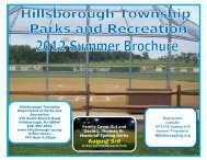 Parks & Recreation Brochure - Hillsborough