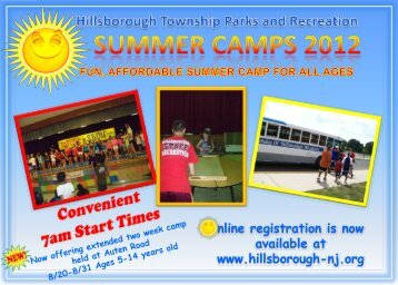 The Middle School Camp-12yrs old-14yrs old - Hillsborough