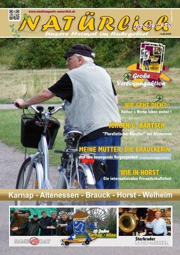 Stadtmagazin NATUERlich - 10/2012/13
